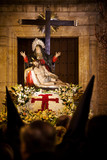 La Quinta Angustia in the Holy Week of Valladolid, Spain