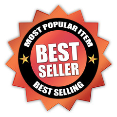 "Star-shaped Sticker ""Bestseller"""