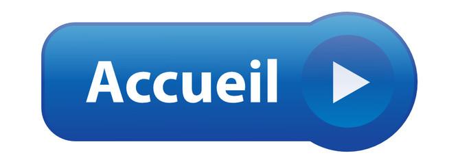 """Bouton """"ACCUEIL"""" (bienvenue page d'accueil site internet web)"""
