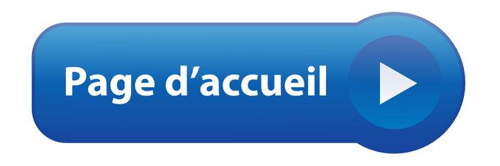 """Bouton Web """"PAGE D'ACCUEIL"""" (bienvenue site internet démarrage)"""