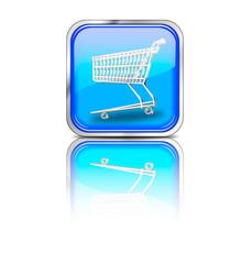 Button_eckig_blau_shopping