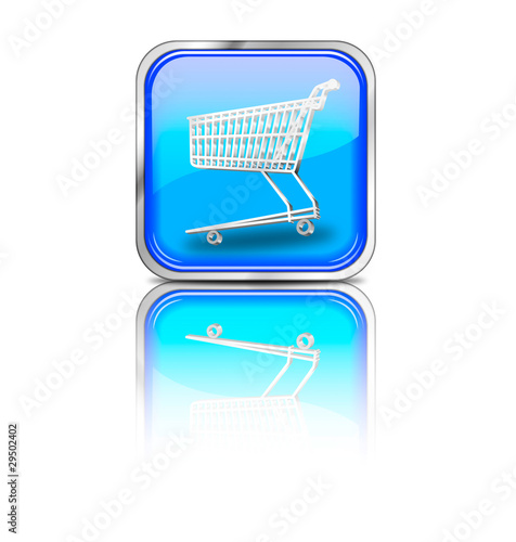 Button_eckig_blau_shopping