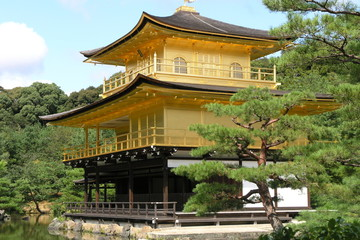 goldener Kinkaku-ji Pavillon