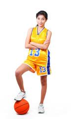 beautiful basketball player