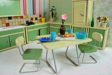 Puppenstuben-Küche
