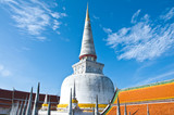 Large ancient stupa, Historic southern Thailand.