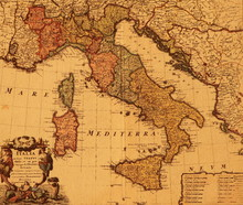 carte de l'Italie antique