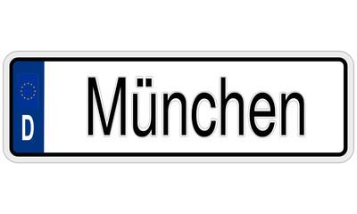 Autokennzeichen Deutschland