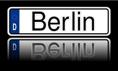 Autokennzeichen Berlin