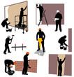 chantier peinture et maçonnerie