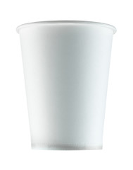 paper glass isolated