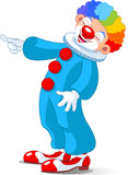 Fototapety Cute Clown laughing
