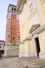 Il campanile del Duomo di Aviano
