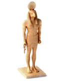 3D Statuette of Egyptian God Horus