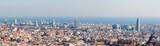 Fototapety Barcelona skyline panorama