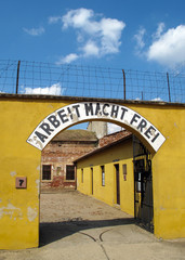 Concentration camp Terezin (Theresienstadt) in the Small Fort.