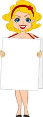 Signboard Girl