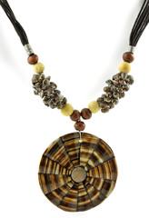 collier à pendentif coquillage