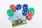 Bet the House Poker Chips on Foreclosed Mortgage poster