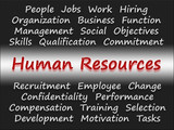 Human Resources - Business Concept poster