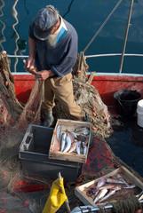 pescatore in Liguria
