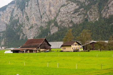 Farm house in Switzerland