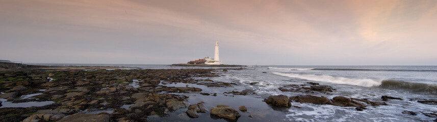 St Mary's Lighthouse Panorama