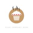 logo picto web gateau marketing pub commerce design icône