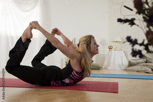 Lovely Yoga Bow Pose