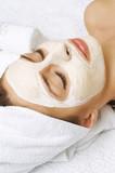 Spa Facial Mask. Dayspa poster