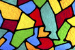 Leinwandbild Motiv Multi colored designs.