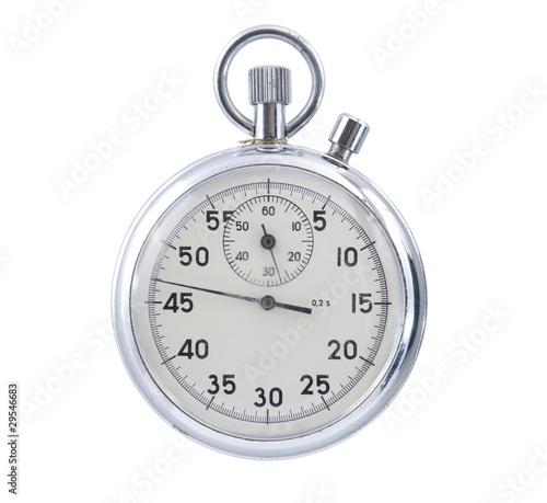 Leinwandbild Motiv Stopwatch