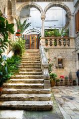 De Ritiis Court.. Giovinazzo. Apulia.