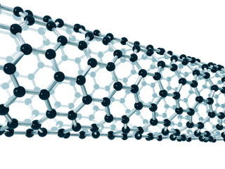 Detail of a carbon nanotube