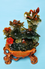 Glass art of china