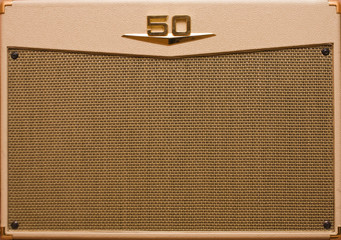 retro vintage guitar amp