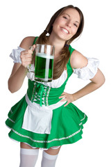 St Patricks Day Girl