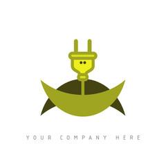 logo picto web électricien marketing commerce design icône