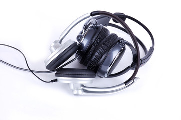 grey headsets