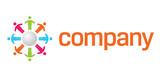 Charity organization logo poster