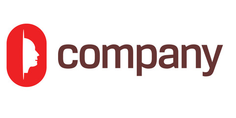 Head symbol for nonprofit organization