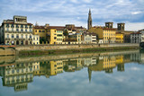 quay of Arno in Florence poster