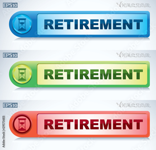 retirement button
