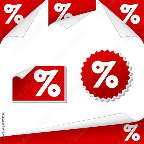 Percentage labels