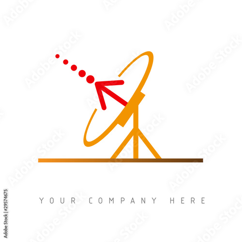 logo picto web antenne marketing pub commerce design icône