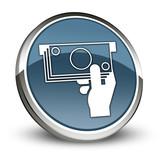 Dark Blue 3D Style Icon