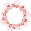 桜のフレーム