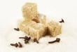 Spicinesses, brown sugar and white sugar
