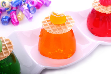 Traffic Light Jellies