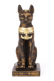 statuette de chat égyptien antique